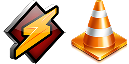 Winamp, iTunes, VLC